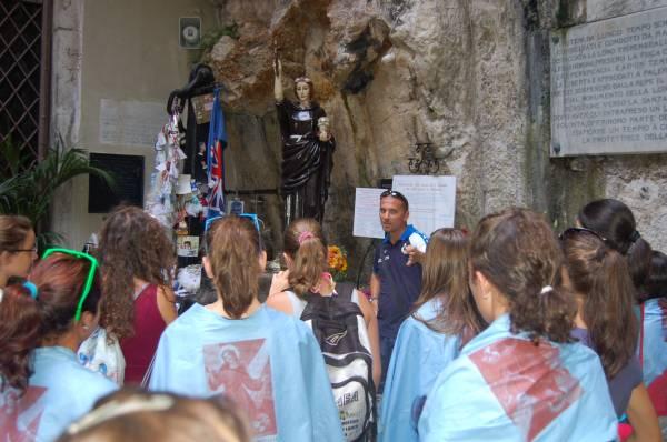Monte Pellegrino. Santuario di Santa Rosalia